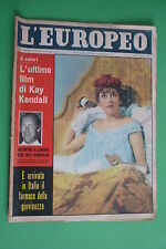 L'EUROPEO 42/1959 KAY KENDALL FRANCOISE SAGAN DAWN ADDAMS BERNARD BERENSON