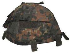 BW Tarnbezug Helmbezug Police Army Helm Helmet Cover Bezug m Taschen Flecktarn