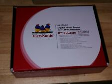 VIEWSONIC VFM820 DIGITAL PHOTO FRAME with box