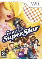 BOOGIE SUPERSTAR for Nintendo Wii - with box & manual - PAL