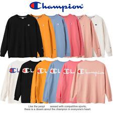 Au Stock Champion hoodie oversize embroidery  Sweatshirt Jumper cotton unisex
