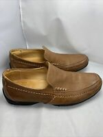 Mens Anatomic&co Casual Shoes Size 8 Leather With A Sheep Skin Lining Free P&p