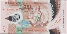 TWN - VANUATU 14 - 200 Vatu 2014 UNC Polymer - Prefix AA