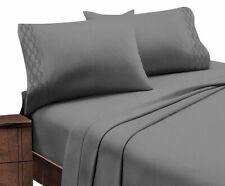 Home Sweet Home Extra Soft 1800 Series Luxury Embroidered Deep Pocket Sheet Set