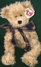 "TY Attic Treasure ""BEARINGTON"" the TEDDY BEAR #6102 Large 13"" MWMT Retired PLUSH"
