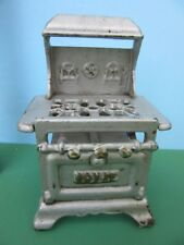 Vintage Dollhouse CAST IRON ROYAL STOVE Miniature Dollhouse Furniture
