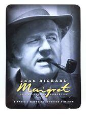 """"""" Maigret - Jean Richard - Les meilleures enquêtes : Saison 1 Coffret 6 DVD """""""