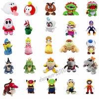 Super Mario Bros King Koopa Bowser Goomba Wario Plush Doll Soft Toys Gift
