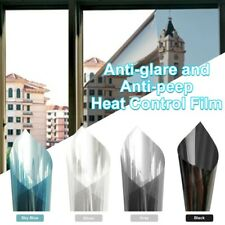 Privacy One Way Mirror Window Tint Film Solar Insulate Glass Reflection Sticker