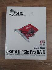 NEW Sealed SIIG eSATA II PCIe Pro RAID SC-SAE312-S1
