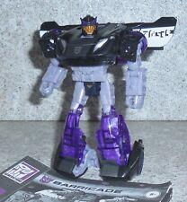 Transformers Siege War For Cybertron BARRICADE Deluxe WFC Missing Guns
