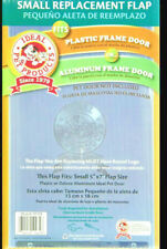 """Clear Vinyl Replacement Flap Small Clear 0.1"""" X 5"""" X 7"""" Ideal Pet Products"""