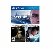 Quantic Dream Collection_ PS4 (Sony PlayStation 4) BRAND NEW!!!