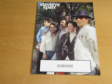 STEELEYE SPAN - SOMEWHERE IN LONDON - OFFICIAL TOUR PROGRAMME          (PROMO)