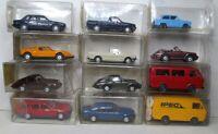 Wiking 1:87 BMW 3er - Mercedes - Porsche 911 - VW Golf Caddy OVP zum auswählen