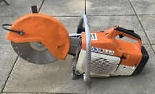 "Genuine Stihl 12"" TS400 Petrol Saw Disc Cutter With Brand New Diamond Blade"