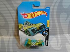 2017 HOT WHEELS ''X-RAYCERS'' #203 = VOLTAGE SPIKE = YELLOW & BLUE   int