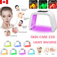 PDT Photon LED Light 7 Colors Acne Treatment Face Rejuvenation Therapy Machine