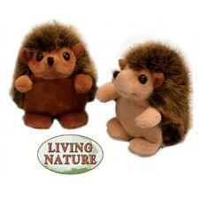 Hedgehog Buddies Soft Toy Animal - Living Nature Small Sitting Cuddly Stocking