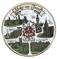 Vintage Edwardian Fine China Collectors Plate - Stoke On Trent <HM06 (T)
