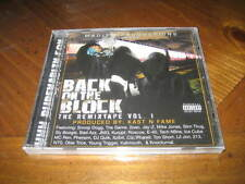 Back on the Block the Remixtape Rap CD JMG 2Pac Kurupt 213 Snoop Dogg Tech N9ne