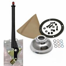 16 Black Transmission Mount E-Brake with Tan Boot Black Ring and Cap hot truck