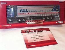 Scania R series Curtainside S&J European New in Box Ltd edition CC18109