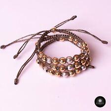Kavak - Handmade Caribbean Shinny Beads Adjustable Women's Bracelet