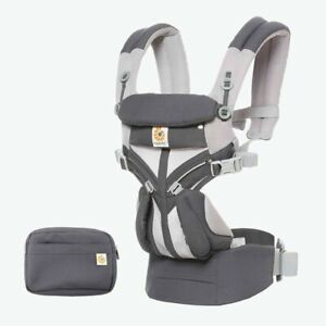 ERGOBABY OMNI 360 CARRIER COOL AIR MESH .carbon grey