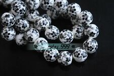 10pcs Porcelain Ceramic Charms Loose Spacer Big Hole Beads Jewelry Findings