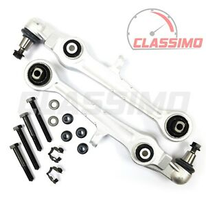 Front Lower Track Control Arm Pair for AUDI A4 B5 + A6 C5 - 20mm cone - 94-2000
