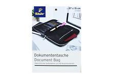 TCM Tchibo hochwertige Dokumententasche Reise Organizer Tasche schwarz