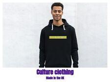 Mens Culture Clothing Organic Cotton Hoodie Sweatshirt Hooded Casual Adult Top