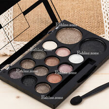 14 Colors Makeup Eye Shadow Palette Smoky Nude Eyeshadow Warm Shimmer Neutral