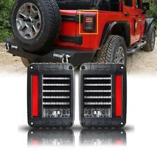 2X JW Speaker 0347531 DOT 279 J Series LED Tail Light Set 07-17 Jeep Wrangler JK