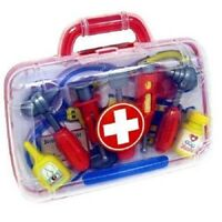 Peterkin Doctor Kit Medical Case Play Set with 11 Pieces for Boys & Girls Toy