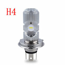 1pcs Motorcycle LED H4 HS1 Hi Lo COB Light Headlight Motorbike White Bulbs Lamp