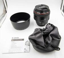 Canon EF 85mm f/1.2 L II AF USM Lens Mint Excellent Condition