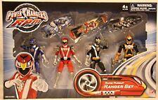 Power Rangers RPM Rapid Pursuit Gift Set Blue Lion Red Eagle Black Wolf & Gold