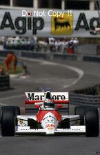 Gerhard Berger McLaren MP4/5B F1 Season 1990 Photograph