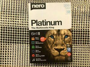 Nero Platinum 2019 unlimited license