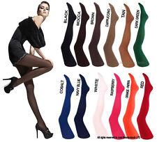 Fiore Tights XLarge Black Semi-opaque 40 Den Tights Hosiery Pantyhose 1pr