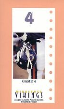 Minnesota Vikings @ Chicago Bears 1998 MINT NFL ticket stub Topps Randy Moss HOF