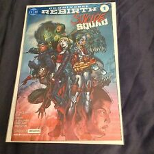 SUICIDE SQUAD # 1 (FOIL COVER, NEW YORK COMIC CON 2016 EXCLUSIVE VARIANT), NM