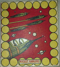 1930s Novel Candy and Toy R722-6 Rocket Rangers Card #1 RARE!