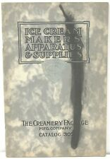 1910 Ice Cream Maker's Apparatus & Supplies Catalog – Creamery Package Mfg Co.