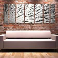 Modern Contemporary Abstract Metal Wall Art Painting Panels Decor - Brian Jones