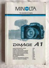Guía de referencia rápida Minolta Dimage A1