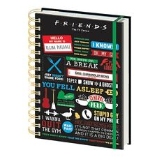 Genuine Friends Infographic A5 Wiro Hardback Journal Notebook Note Pad TV