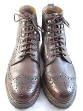 """Allen Edmonds """"Long Branch"""" Wingtip Boots 9.5 EEE Brown (253)"""
